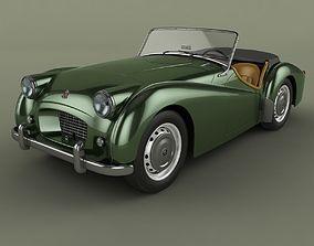 3D model Triumph TR2
