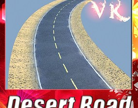 3D Realistic Desert Road High Resolution