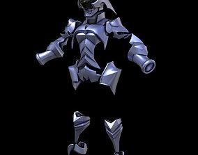 3D print model Kingdom Hearts Aqua Armor