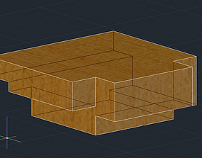 3D printable model Table saw measuring block