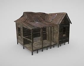 Rural Shack 3D model