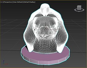 Horus Head 3D model