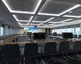 Large Conference Room 3D model