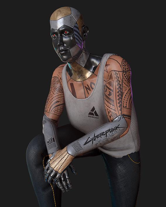 Cyberpunk 2077 Fan Art Model