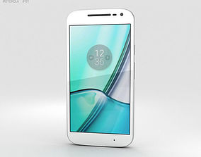 3D Motorola Moto G4 Play White