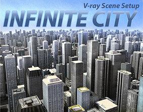3D model Infinite City urban