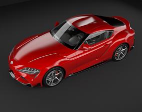 Toyota Supra 2019 3D MODEL rigged