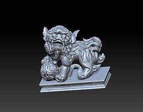 Foo Dog 3D print model oriental