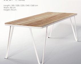 LOOP TABLE 3D model