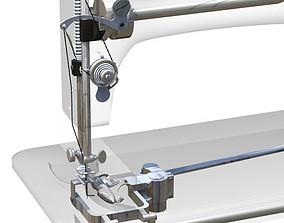 3D 1908 Singer Sewing Machine