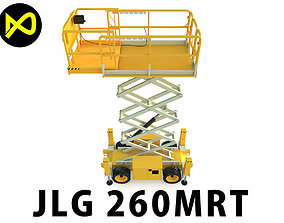 Engine Powered Scissor Lift 3D
