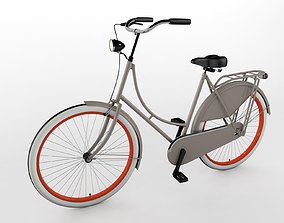 Grandma Bike - Omafiets 3D model