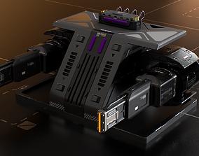 3D model Laser Turret - ASURAX2