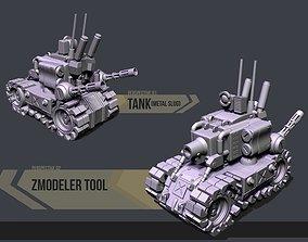 Tank Metal Slug 3D print model