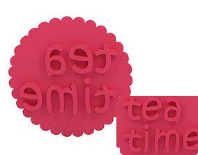 3D printable model house Cookie stamp - Stamp