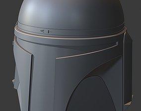 3D print model Jango Fett Helmet with Movable 3