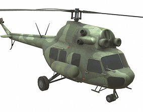 Mil Mi-20 3D model