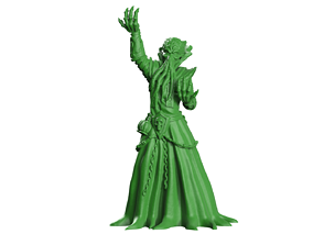 Chaos wizard 3D print model
