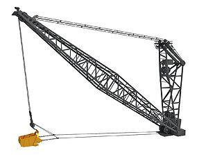 Dragline Excavator Bucket 3D model
