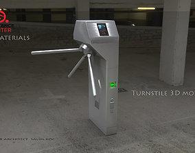 realtime Turnstile 3D model