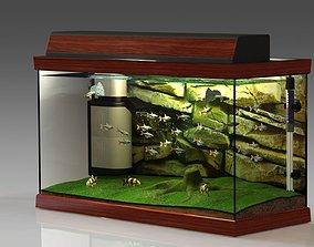 3D model Tropical Aquarium