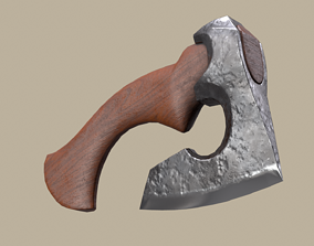 AXE lowpoly model realtime