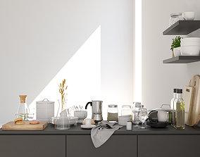 3D model Kitchen decoration