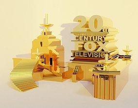 3D 20th century fox logo
