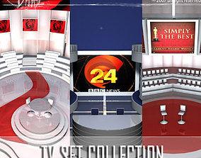 3D model Tv set collection