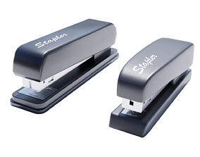 Office Stapler Collection 3D