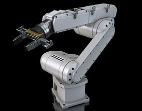 Industrial Robot Arm 3D print model