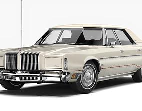 3D Chrysler New Yorker Brougham Sedan 1977
