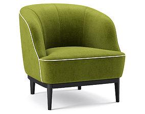 Lloyd Chair The Sofa And Chair Company 3D model