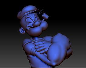 Popeye The Sailor Man 3D print model
