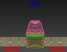 Cargo Shuttle Pod 3D model