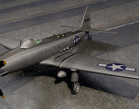 Fisher P-75 Eagle american 3D