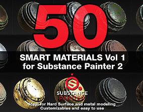Substance Painter Smart Materials Vol 1 metals 3D