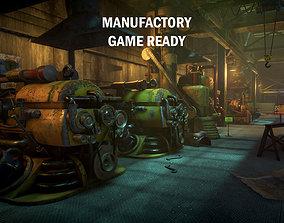 Manufactory 3D asset