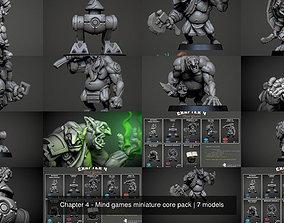 3D model Chapter 4 - Mind games miniature core pack
