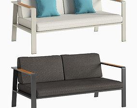3D Double sofa NOFI