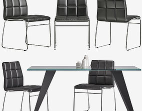 Chair Explorer Table Nack La Forma Julia Grup 3D model