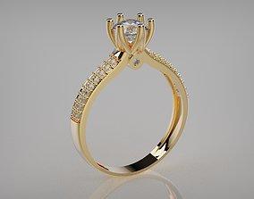1199001 Engagement ring 3D print model