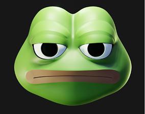 3D model Unamused Pepe