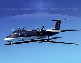 DeHavilland DHC-8-Q300 Astro Charter 3D