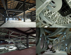 3D Industrial Office Collection