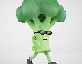 Broccoli Joe 3D model