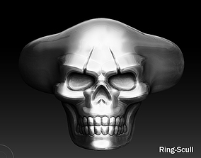 3D printable model Ring -Scull Jewerly