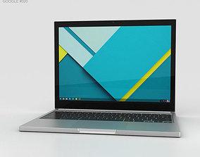 3D model Google Chromebook Pixel 2015
