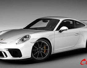 3D model Porsche 911 GT3 2018