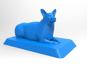 Pembroke Welsh Corgi 3D Printable Model